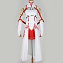 povoljno Anime kostimi-Inspirirana SAO Swords Art Online Asuna Yuuki Anime Cosplay nošnje Japanski Cosplay Suits Posebni dizajni Top / Suknja / More Accessories Za Muškarci / Žene