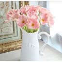 abordables Fleur artificielles-Fleurs artificielles 8.0 Une succursale Classique Elégant Mariage Coquelicot Fleur de Table