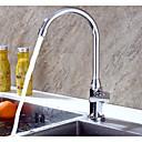 abordables Spray Amovible-Robinet de Cuisine - Mitigeur un trou Débit Normal Moderne Kitchen Taps