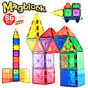 billige Væg Lamper-Magnetiske fliser 86 pcs Kreativ geometrisk mønster Farvegradient Alle Drenge Pige Legetøj Gave