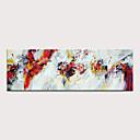 halpa Abstraktit maalaukset-Hang-Painted öljymaalaus Maalattu - Abstrakti Moderni Ilman Inner Frame