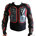 cheap Motorcycle Protection Gear-Motorcycle Auto Racing Back Armor Protection Jacket Red Side M