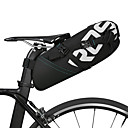 cheap Bike Saddle bags-ROSWHEEL 10 L Bike Saddle Bag Reflective Rain Waterproof Waterproof Zipper Bike Bag Polyester Bicycle Bag Cycle Bag Cycling Bike / Bicycle