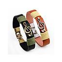 cheap Bracelets-Men's Vintage Style Bracelet Bangles - Stylish Bracelet Jewelry Black / Brown For Daily