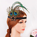 cheap Movie & TV Theme Costumes-The Great Gatsby 1920s The Great Gatsby Costume Women's Flapper Headband Head Jewelry Green Vintage Cosplay Party Prom Festival