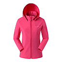cheap Softshell, Fleece & Hiking Jackets-SUMMITGLORY® Women's Hiking Jacket Outdoor Autumn / Fall Spring Windproof Jacket Elastane N / A Casual Outdoor Exercise Rose Red / Blue