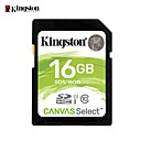 abordables Cartes Mémoire-Kingston 16Go carte SD carte mémoire Class10