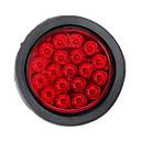 رخيصةأون جواكيت الدراجة-1 قطعة سيارة لمبات الضوء 3 W 19 LED الضوء الخلفي / أضواء الفرامل من أجل عالمي / فولكسواجن / تويوتا كل السنوات