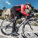 cheap Cycling Jackets-SANTIC Men's Women's Couple's Cycling Tights Bike Pants / Trousers Pants Reflective Thermal / Warm Windproof Sports Stripes Polyester Elastane Winter Black / Red Mountain Bike MTB Road Bike Cycling