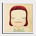 hesapli Çerçeveli Resimler-Çerçeveli Tuval Çerçeve Seti - İnsanlar Karton Plastik Çizim Duvar Sanatı