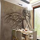 זול טפטים-טפט / צִיוּר קִיר / בד קיר בַּד וול כיסוי - דבק נדרש ארט דקו / 3D / מלאך