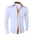 hesapli Erkek Gömlekleri-Erkek Gömlek Solid Beyaz