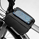 cheap Bike Frame Bags-1.5 L Cell Phone Bag Bike Frame Bag Waterproof Portable Wearable Bike Bag 600D Polyester Bicycle Bag Cycle Bag iPhone X / iPhone XR / iPhone XS Outdoor Exercise Bike / Bicycle