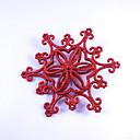 abordables Décorations de Noël-Décorations de vacances Décorations de Noël Décorations de Noël Soirée Dorée / Argent / Rouge 2pcs