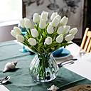 abordables Flores Artificiales-Flores Artificiales 10 Rama Clásico Europeo Estilo Simple Tulipán Flor de Mesa