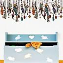 abordables Adhesivos de Pared-Calcomanías Decorativas de Pared - Calcomanías de Aviones para Pared Abstracto Dormitorio / Habitación de estudio / Oficina