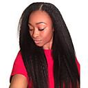 povoljno Perike s ljudskom kosom-Mongolska kosa Ravan kroj 10A Ljudske kose plete Isprepliće ljudske kose Proširenja ljudske kose