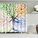 hesapli Duş Perdeleri-Duş Perdeleri Günlük / Modern Polyester Sevimli