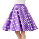 cheap Hiking Trousers & Shorts-Women's Cotton Swing Skirts - Polka Dot