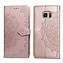 preiswerte Handyhüllen-Hülle Für Samsung Galaxy S7 Kreditkartenfächer / Flipbare Hülle Ganzkörper-Gehäuse Solide Weich PU-Leder für S7