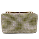 cheap Clutches & Evening Bags-Women's Bags Synthetic / Alloy Evening Bag Solid Color Gold