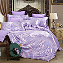 cheap High Quality Duvet Covers-Duvet Cover Sets 3D / Luxury / Chinese Style Silk / Cotton Blend Jacquard 4 PieceBedding Sets