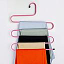 رخيصةأون رف تخزين الملابس-الفولاذ المقاوم للصدأ متعدد الطبقات بنطلونات الشانق, 1PC