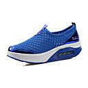 voordelige Damessneakers-Dames Netstof Lente & Herfst / Zomer Sneakers Fitness & Crosstraining / Wandelen Platte hak Grijs / Blauw / Roze