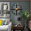 """levne Nástěnné hodiny-Moderní soudobé Módní Plastic & Metal Kulatý Vevnitř 20"""" x 20"""" (50cm x 50cm) 24"""" x 24"""" (60cm x 60cm)"""