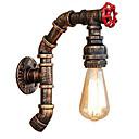 abordables Chandeliers Muraux-JSGYlights Tuyau simple / Rétro / Vintage Appliques Salle de séjour / Salle à manger Métal Applique murale 110-120V / 220-240V 60 W