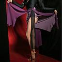 preiswerte Kleidung für Lateinamerikanischen Tanz-Latein-Tanz Unten Damen Leistung Samt Chiffon Kombination / Geschlitzt Niedrig Röcke