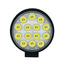 baratos Lanternas Para Veículo de Trabalho-1pcs Conexão de fio Carro Lâmpadas 42 W COB 3550 lm 14 LED Luz Anti Neblina / Luz de Trabalho Para Universal Todos os Anos