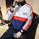 abordables Escarpins-Homme Coupe-vent Des sports Mode Sweat à capuche Hauts / Top Course / Running Fitness Manches Longues Tenues de Sport Coupe Vent Respirable Séchage rapide Non Elastique