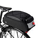 cheap Bike Frame Bags-ROSWHEEL 10 L Bike Rack Bag Large Capacity Waterproof Rain Waterproof Bike Bag 600D Ripstop Bicycle Bag Cycle Bag Cycling Outdoor Exercise