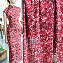 halpa Käsityöt ja ompelu-Sifonki Kukkakuviot Pattern 145 cm leveys kangas varten Vaatteet ja muoti myyty mukaan 0.5m