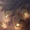 halpa Uutuusvalaisimet-uutuus rakkaus sydän häät keiju joulu johti baari seinäikkuna merkkivalo valo sisätiloissa puutarha autotalli valaistus 2m