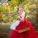 halpa Elokuva & TV teeman puvut-Prinsessa Mekot Cosplay-Asut Naamiaisasu Tyttöjen Elokuva Cosplay Cosplay Halloween Punainen Leninki Halloween Karnevaali Masquerade Tylli Puuvilla