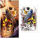 preiswerte Hülse Tätowierung-1 pcs Temporary Tattoos Wasserdicht / Beste Qualität zurück Tattoo Aufkleber