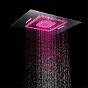 cheap LED Shower Heads-Contemporary Rain Shower Chrome Feature - LED / Shower, Shower Head
