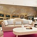 levne Tapety-tapeta / Nástěnná malba / Nástěnné látky Plátno Wall Krycí - lepidlo požadováno secesní motiv / 3D