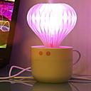 halpa Astiasarjat-1kpl LED Night Light Vaaleanpunainen USB Luova <=36 V