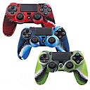 hesapli PS4 Aksesuarları-Oyun Kontrolörü Kasa Koruyucu Uyumluluk PS4 / PS4 Slim / PS4 Prop ,  Çok güzel Oyun Kontrolörü Kasa Koruyucu Silikon 1 pcs birim