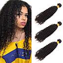 저렴한 인모 헤어 연장 제품-3 개 묶음 브라질리언 헤어 요동하는 Kinky Curly 미처리 인모 헤드 피스 인간의 머리 직조 번들 헤어 8-28 인치 천연 인간의 머리 되죠 오더 프리 발렌타인 여성 인간의 머리카락 확장 여성용