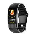 halpa Vihannes- ja hedelmävälineet-p11 Unisex Smart rannerengas Android iOS Bluetooth Vedenkestävä Kosketusnäyttö Sykemittari Verenpaineen mittaus Urheilu EKG + PPG Ajastin Askelmittari Puhelumuistutus Activity Tracker
