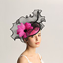 cheap Party Headpieces-Flax / Feathers Fascinators with Feather 1pc Wedding / Special Occasion Headpiece