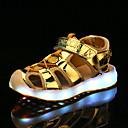 halpa Lasten sandaalit-Poikien / Tyttöjen PU Sandaalit Taapero (9m-4ys) / Pikkulapset (4-7 vuotta) / Suuret lapset (7 vuotta +) Välkkyvät kengät Kävely LED Hopea / Sininen / Pinkki Kevät / Syksy / Kumi