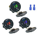 cheap Car Charger-Car Charger Fast Charge Dual USB Port with Voltmeter Digital Display Mobile Phone Charger