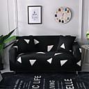 halpa Irtopäälliset-Sohvan päällinen Geometrinen Lankavärjätty Polyesteri / puuvilla -seos slipcovers