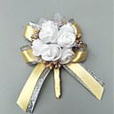 """cheap Wedding Flowers-Wedding Flowers Boutonnieres Event / Party / Wedding Party Poly / Cotton Blend 1.57""""(Approx.4cm)"""