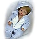 halpa Reborn Dolls-FeelWind Reborn Dolls Poikavauvat Tyttövauvat 22 inch Koko kehon silikoni Silikoni - Sievä Lapset / nuoret Lovely Lasten Unisex Lelut Lahja